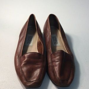 Women's Enzo Angiolini Leather Loafers Shoes  8.5M